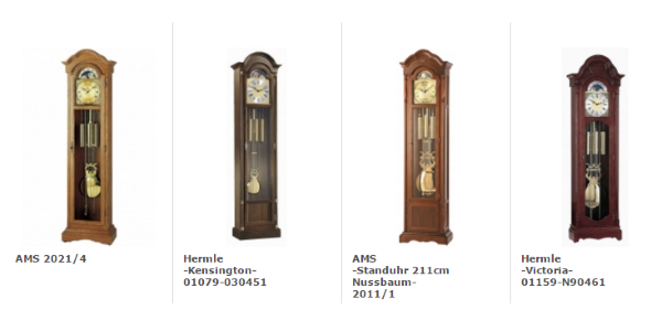 Grandfather Clocks Uhren-Park