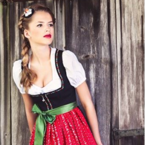 Dirndl dresses and Leather Pants
