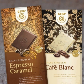 Gepa The Fair Trade Company organic chocolate