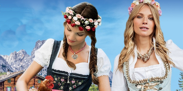 Lovely Dirndl Dresses at Dirndl.com