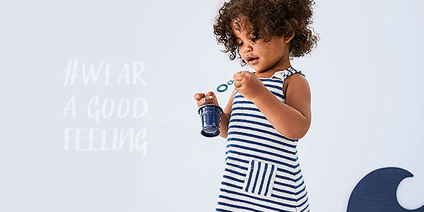 Hessnatur organic fashion for babies and kids