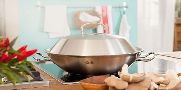 Kaufhof high-quality German brand Fissler pots and pans