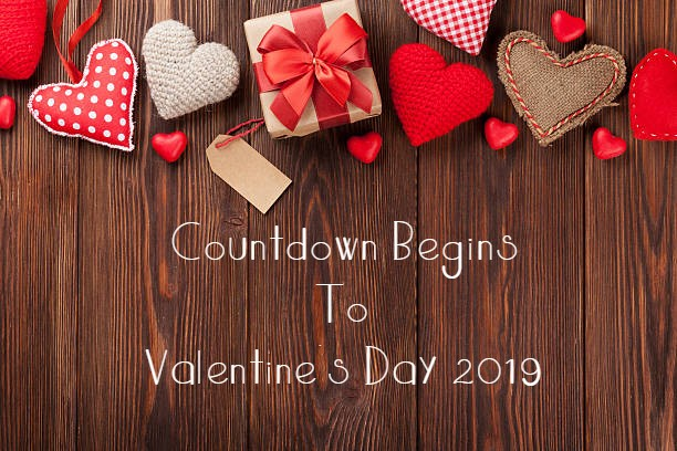 Countdown Begins To Valentine's Day 2019