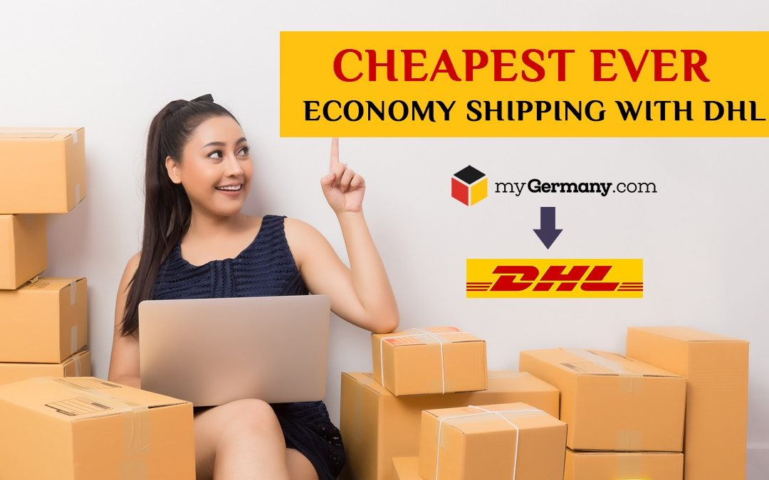 Cheapest Ever — Economy Shipping With DHL